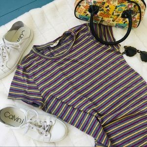 Rolla Coster Easy Striped T-Shirt Dress